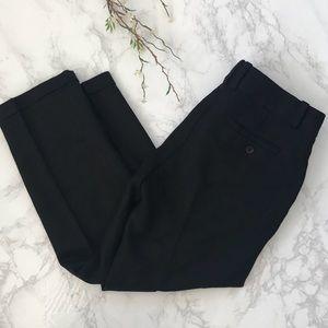 J. Crew black city fit work pants wool trousers 4